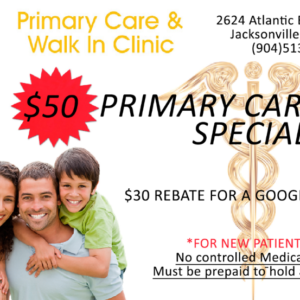 Primary Care Visit Special