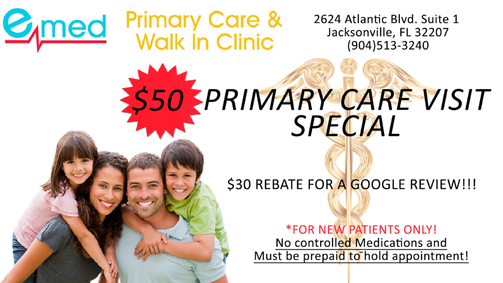 primary care jacksonville