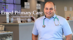dr rene pulido emed primary care waiting room